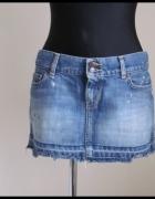 Spódnica krótka jeans 40 L Abercrombie i Fitch...