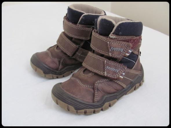 BARTEK buty zimowe na rzepy rozmiar 23 stan bdb