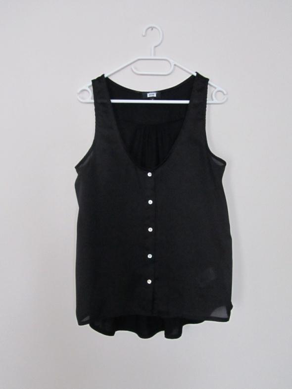 czarna bluzka dłuższy tył...