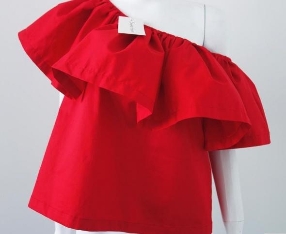 Czerwona bluzka hiszpanka HIT 2016