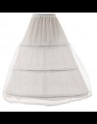 Długa Halka do sukienek spódnic efekt...