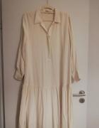 Beżowa sukienka H&M 40...