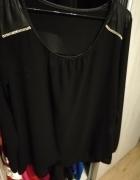 Zwiewna sexowna elegancka czarna swiecidelka...
