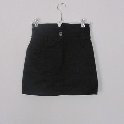 Spódnice czarna spódnica z wysokim stanem pin up