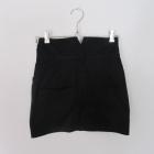 czarna spódnica z wysokim stanem pin up