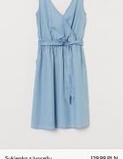 H&M Sukienka z lyocellu denim...