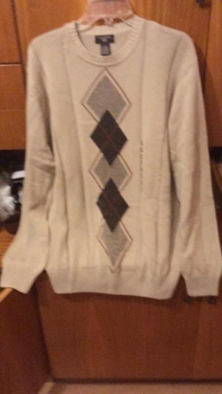 swetr w romby...