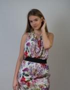 Seksowna sukienka ZARA floral...