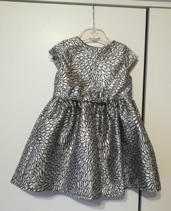 Jak nowa elegancka sukienka dla księżniczki rozm 92