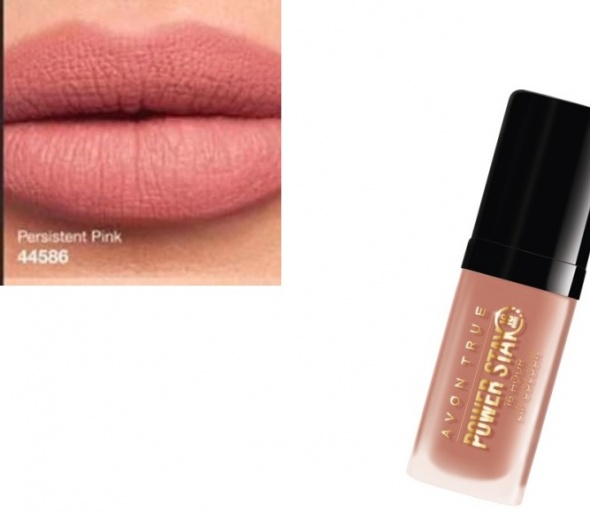 Matowa szminka Persistant pink