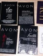 Próbki podkładów 7 sztuk nowe Avon Rimmel