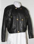 parka ramoneska kurtka czarna vintage