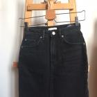 Jeansowa spódnica mini h&m