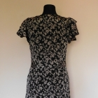 Vero Moda sukienka czarna motyle 38 40