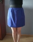 Kobaltowa spódnica mini...