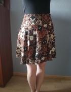 Brązowa spódnica H&M...
