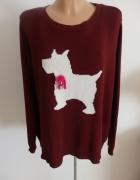 sweterek z piskiem...