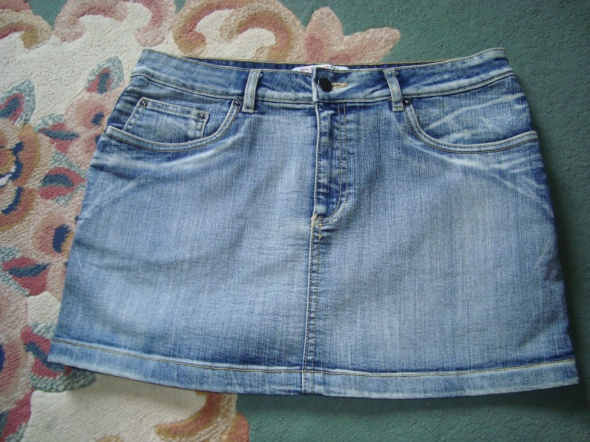 Spódnice spódnica jeansowa t shirt gratis