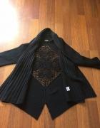 sweter z ażurową wstawką Kiko one size