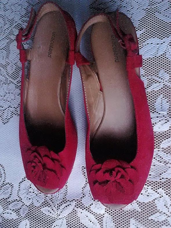 czerwone sandały r 41...