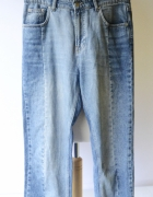 Spodnie Gina Tricot M 38 Jeans Lampasy Proste Nogawki Dzinsowe...