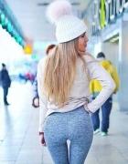 Super legginsy PUSH UP serca HIT model