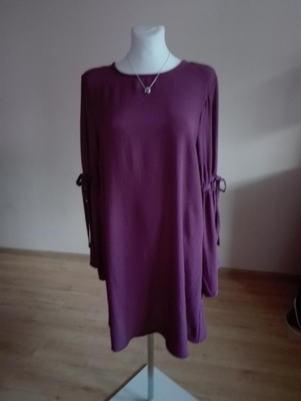 sukienka w jesiennym kolorze...