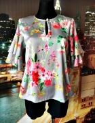 rowen avenue bluzka modny wzór kwiaty floral nowa hit 38 M...