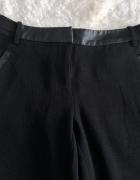 Czarne spodnie marki promod rozmiar 34