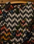 geometryczna sukienka...