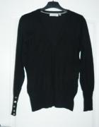 Czarny sweterek CA jak nowy rozm S