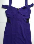 Sukienka Atmosphere Bandage Bandażowa Ołówkowa Zamek Zip 38...
