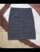Spódniczka z brązowego jeansu...