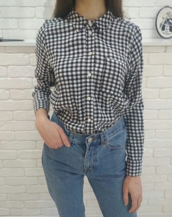 Koszula w kratkę S M Topshop w Koszule Szafa.pl  tIl7V