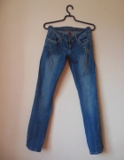 Orsay spodnie jeans proste 34 36...