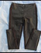 H&M spodnie brązowe skaja 40 L...