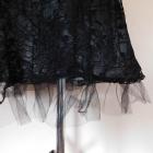 Vila czarna sexy sukienka koronka 36