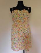 Topshop sukienka kwiatki mini 38...