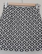 Zara krótka spódnica żakardowa mini...