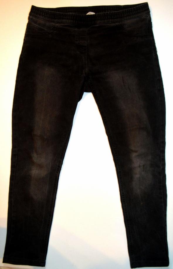Spodnie jegginsy marmurek
