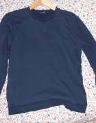 George granatowa bluza dresowa klasyka minimalizm...