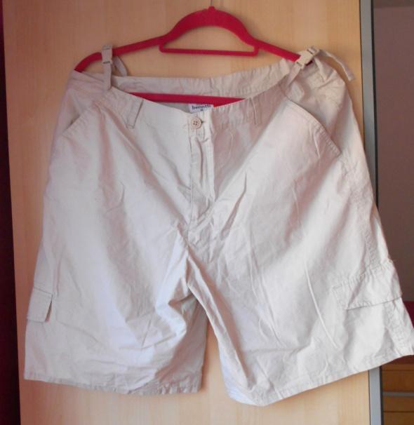 Spodenki Gina Benotti beżowe szorty bojówki 42