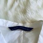 Bluzka Zara dekolt marszczenia M biala