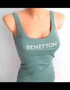 koszulka bokserka Benetton...