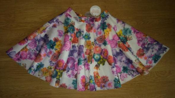 Spódnice Spódnica rozkloszowana kwiatki