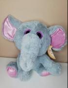 słoń zabawka pluszak nowy z metką dziewczynka hit miś...
