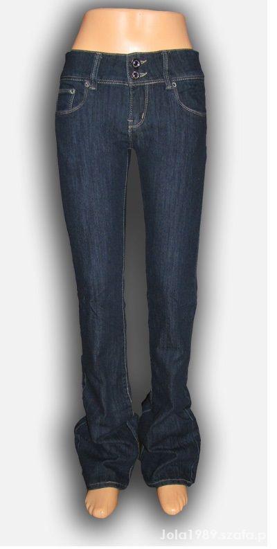 Spodnie NOWE SPODNIE JEANSY BOOTY CUT ROZMIAR S M