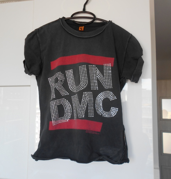Amplified RUN DMC koszulka tshirt dżety...