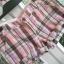 HM szorty spodenki w kratkę różowe pink bawelniane