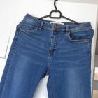 Zara klasyczne jeansy rurki jeans minimalizm skinny